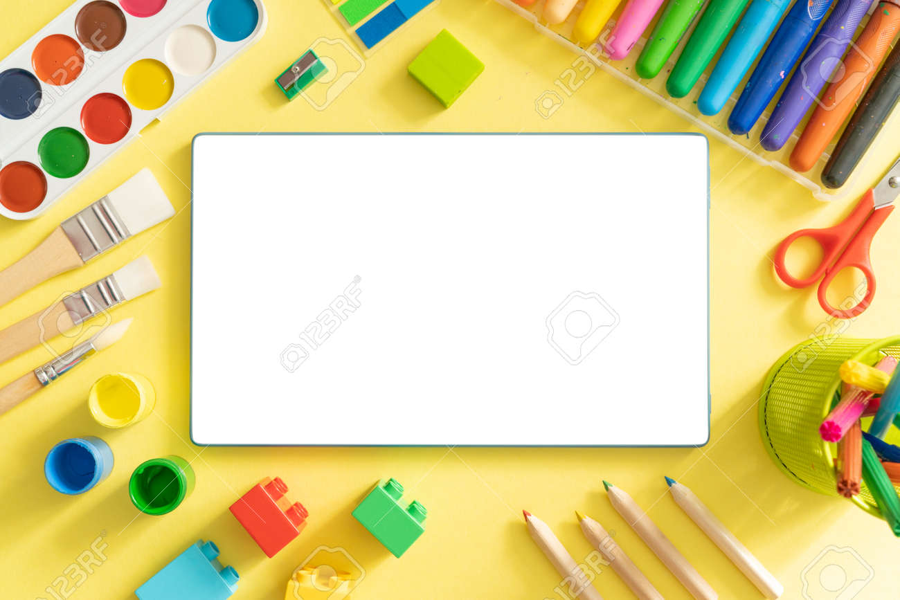 Kids online drawing class concept - 170905354