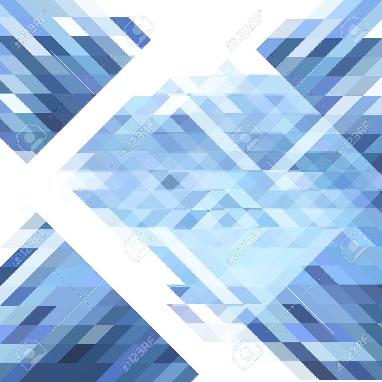 1dadd2c8f0c2b Fondo Geométrico Abstracto. Formas Geométricas En Diferentes Tonos De Azul  Y Blanco. Patrón De Polígono Geométrico Futurista. Para Usar Como Fondo De  Página ...
