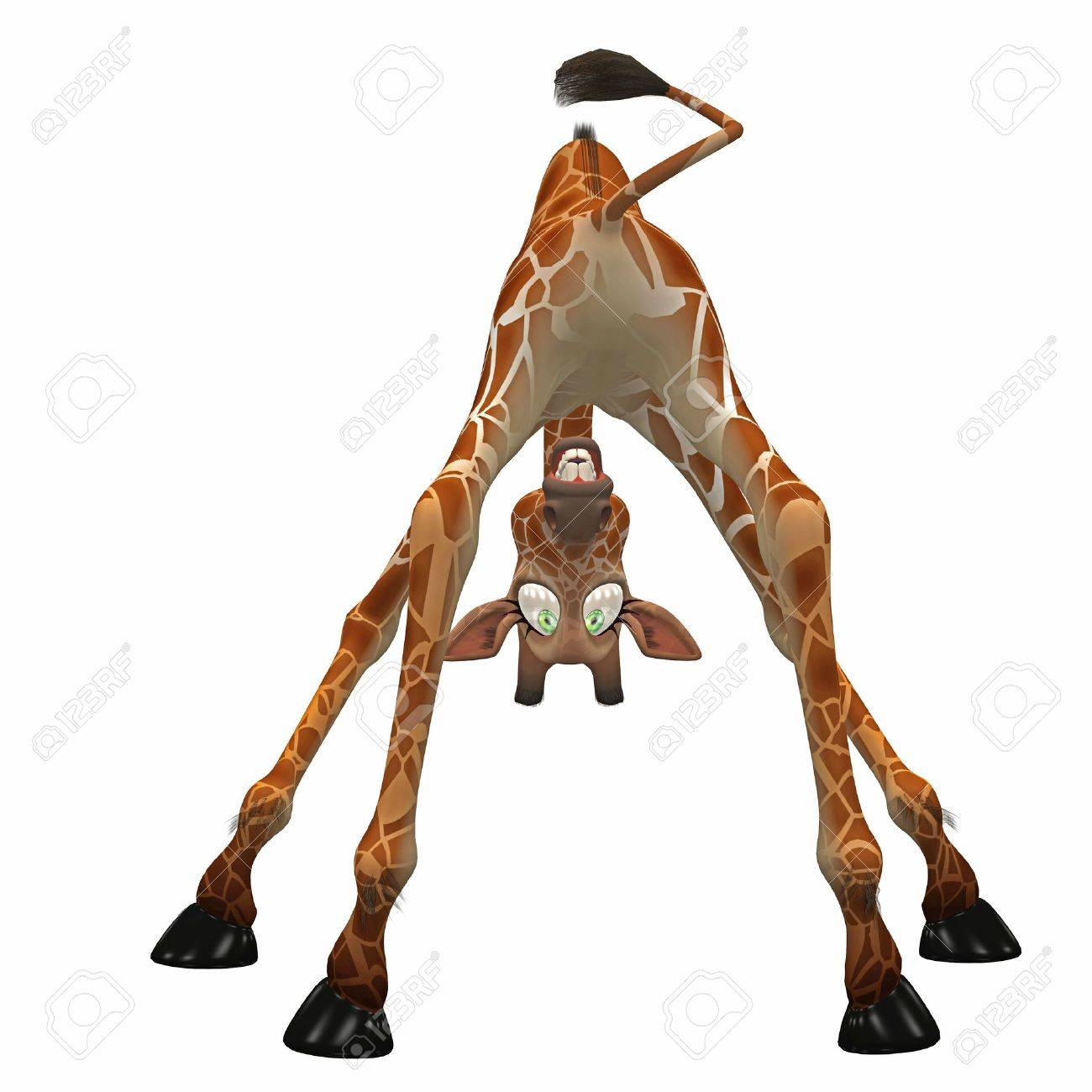 giraffe toon stock photo picture and royalty free image image