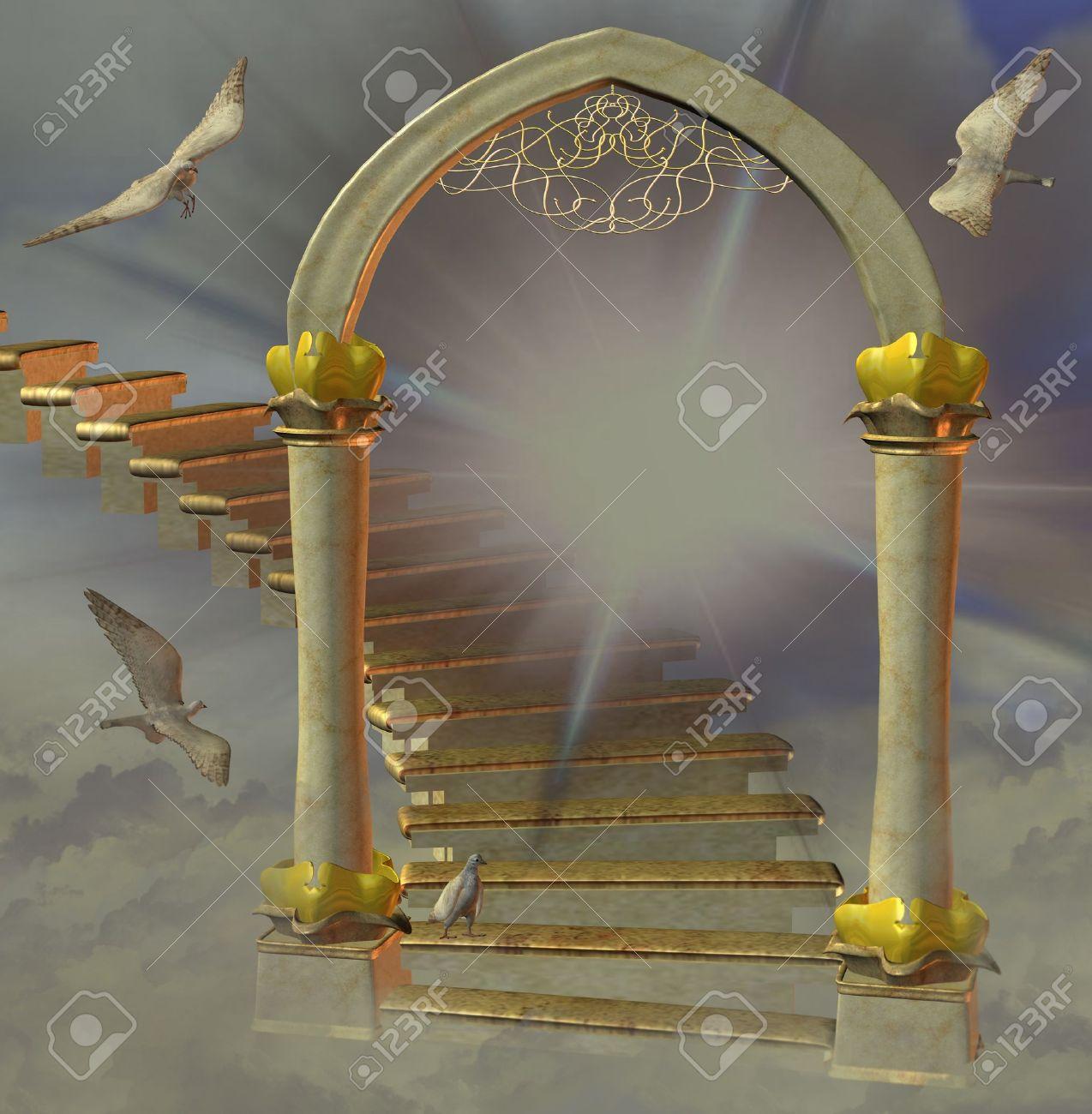 heaven's gate Stock Photo - 9208803