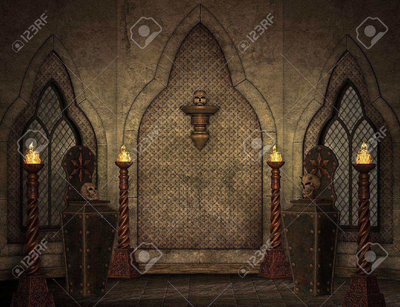 gothic scenery Stock Photo - 10442787
