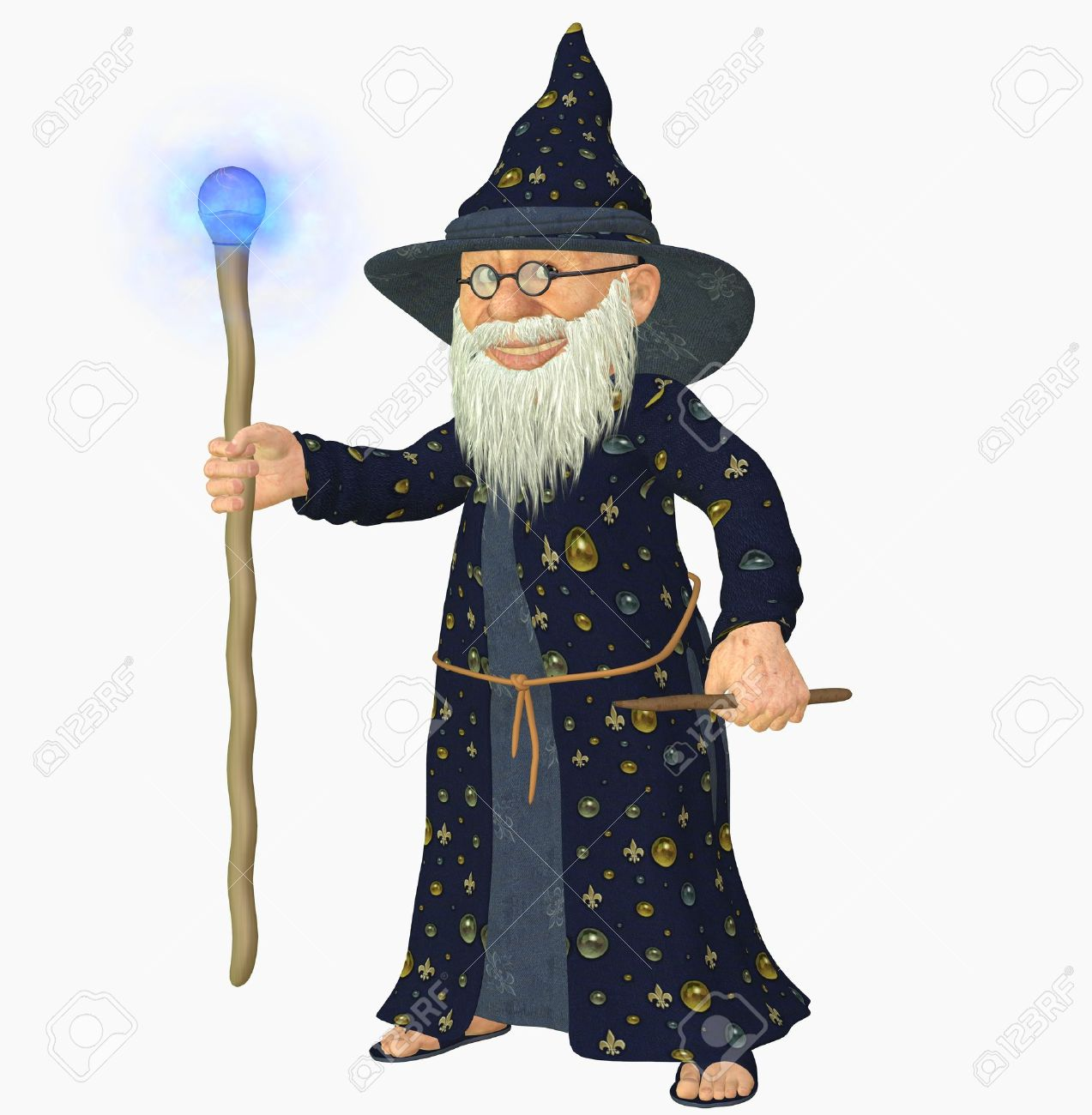 4,400 Wizard Wand Stock Illustrations, Cliparts And Royalty Free ...