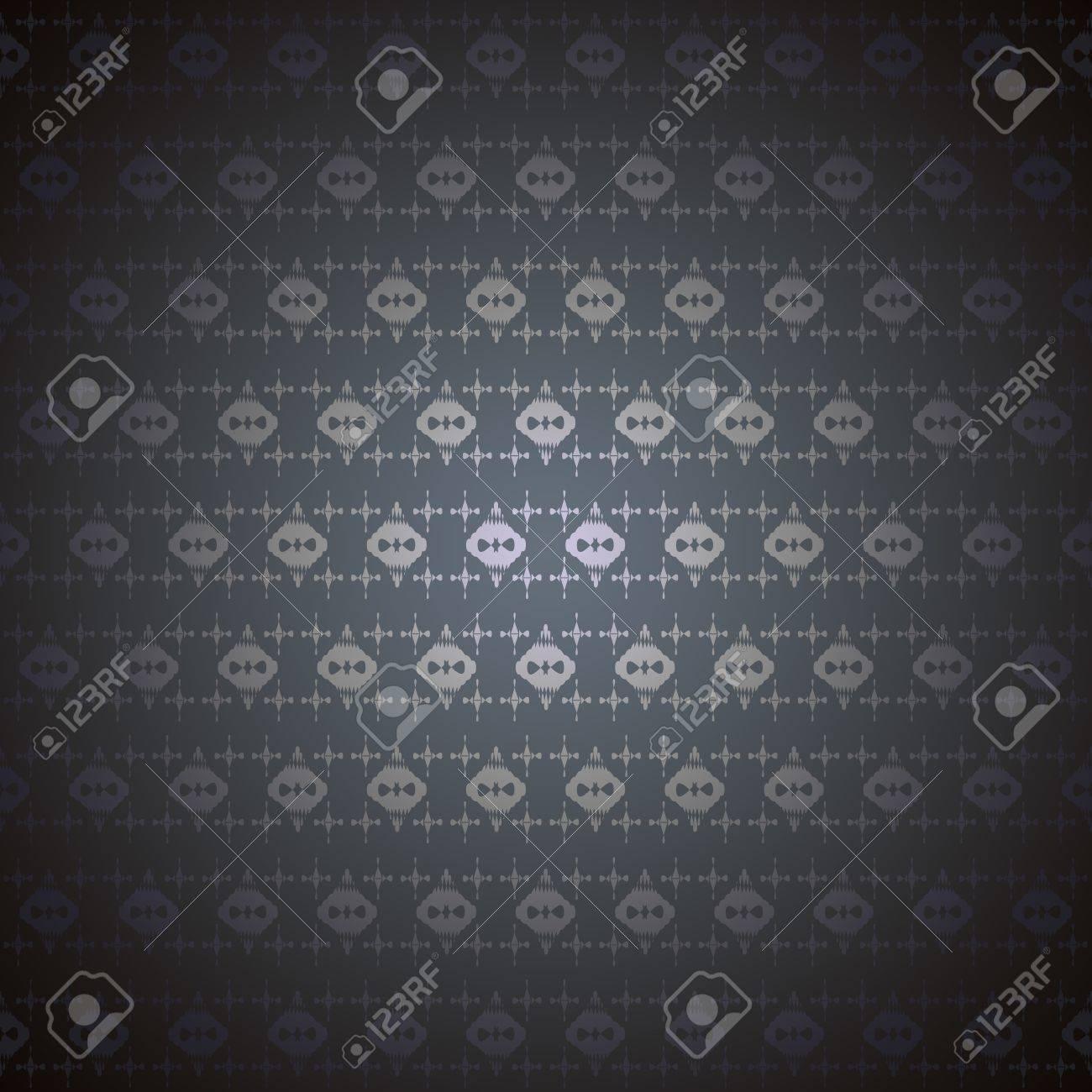 シームレス パターン壁紙黒ゴシック シンボル の写真素材 画像素材
