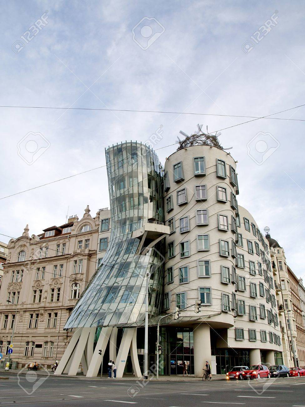 gehry tower images stock pictures royalty free gehry tower gehry tower prague april 29 the dancing house in the center of prague seen
