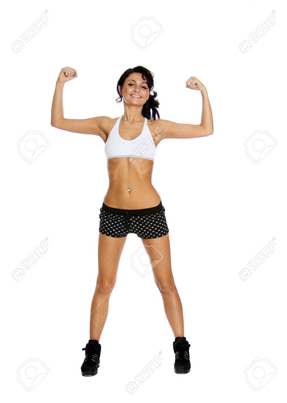 beautiful girl working out Stock Photo - 5798053