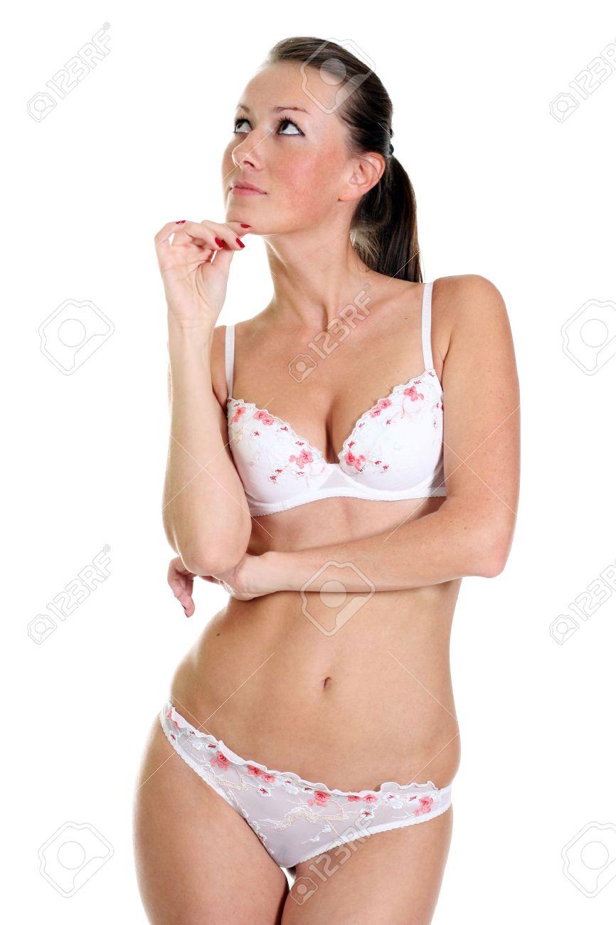 Как девушки снимают нижнее белье