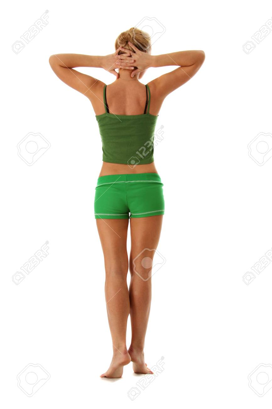 beautiful girl working out Stock Photo - 5928914