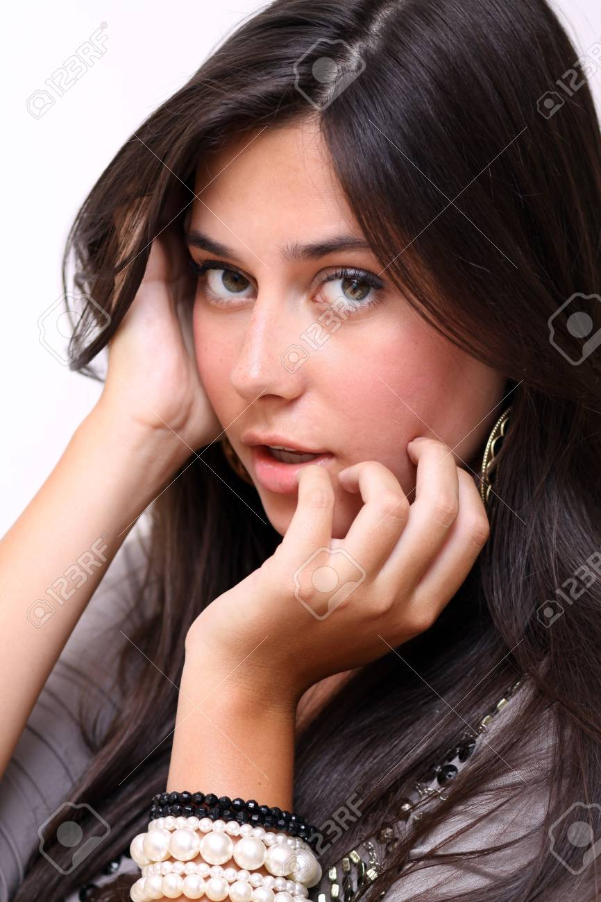 Portrait of young sad woman Stock Photo - 6750662