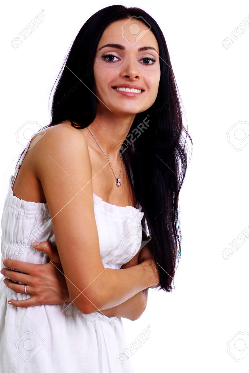 Closeup portrait of an attractive woman Stock Photo - 9513601
