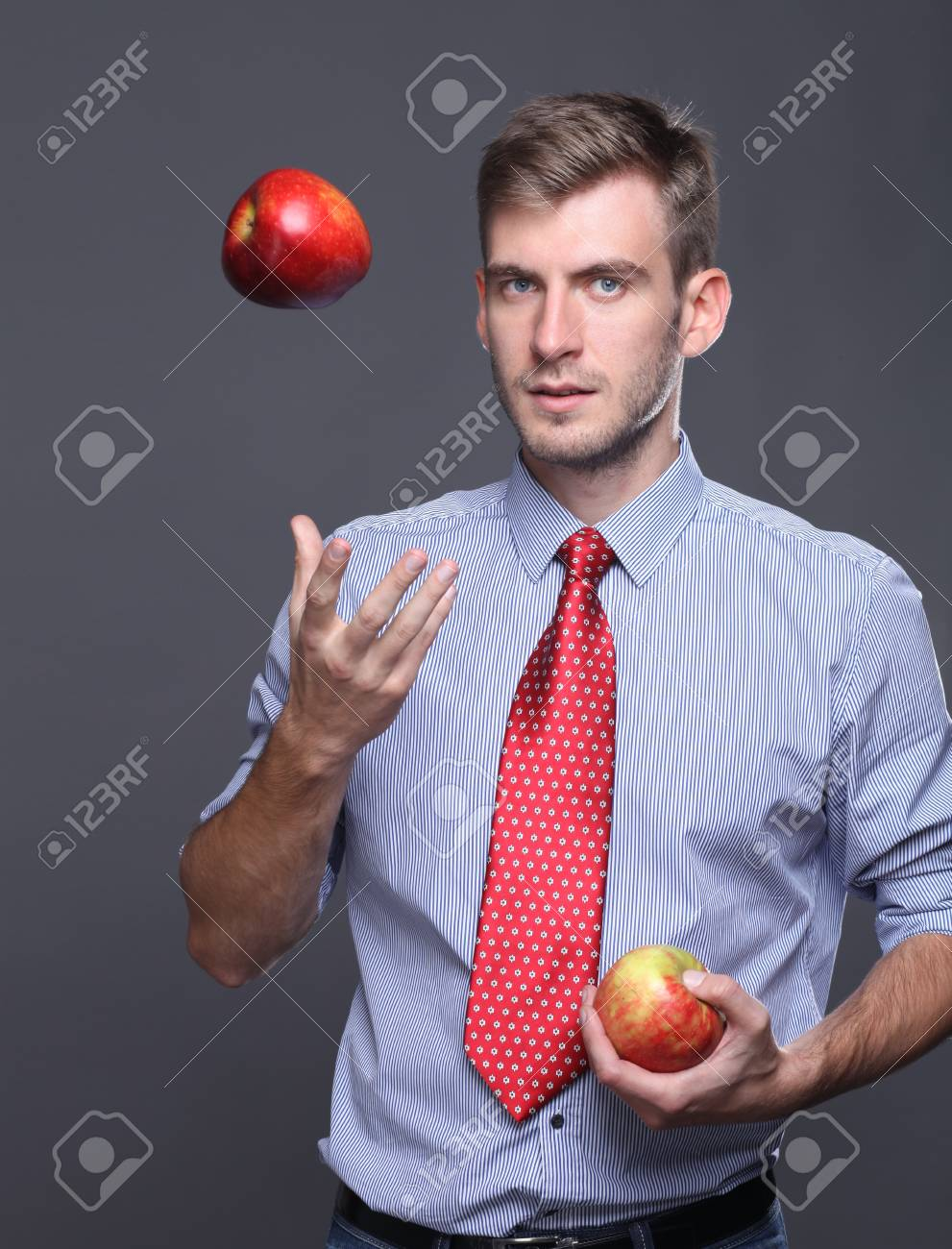 Portrait of young business man Stock Photo - 15654139