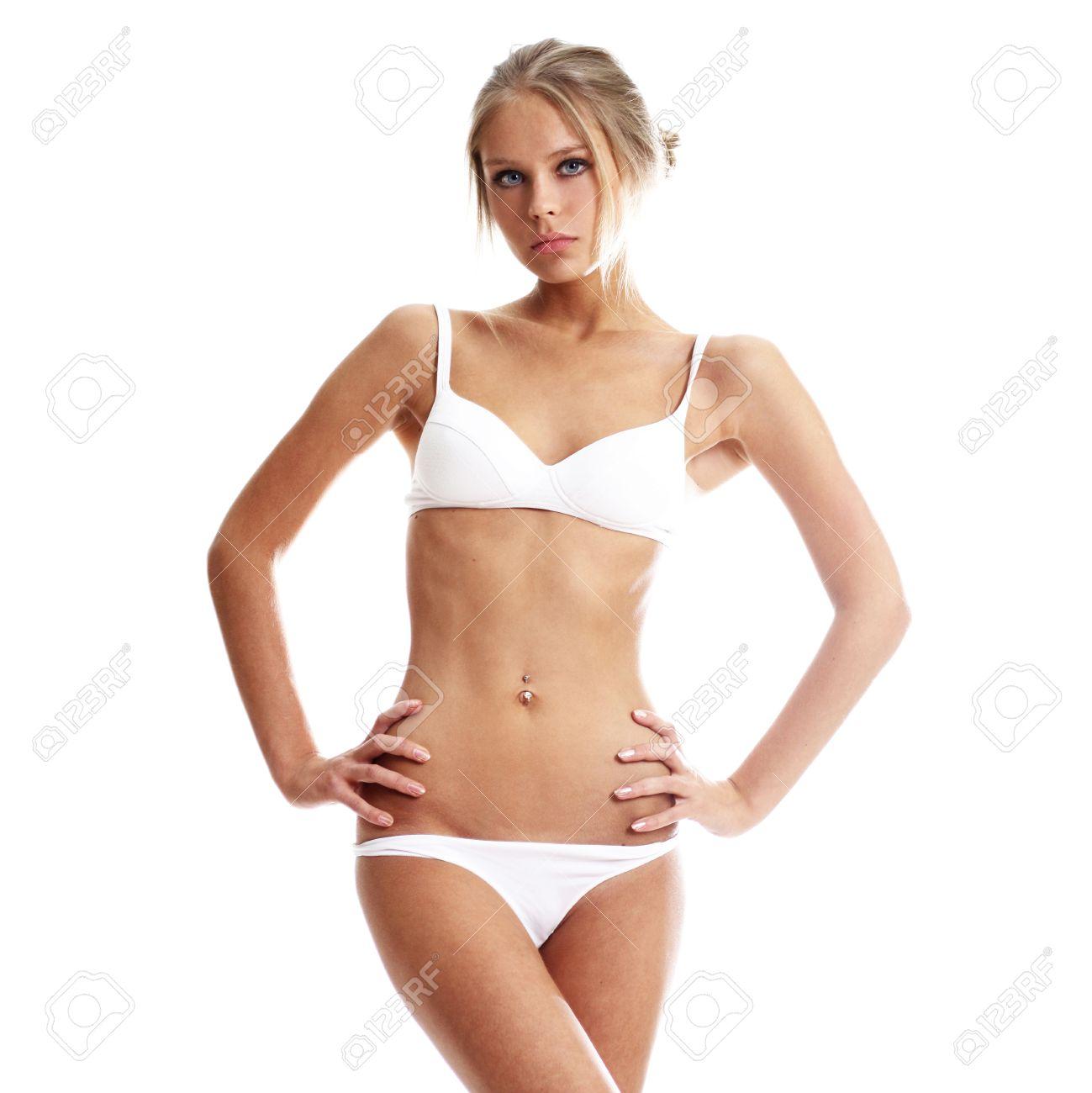 Фото женщины в белом нижнем 15 фотография
