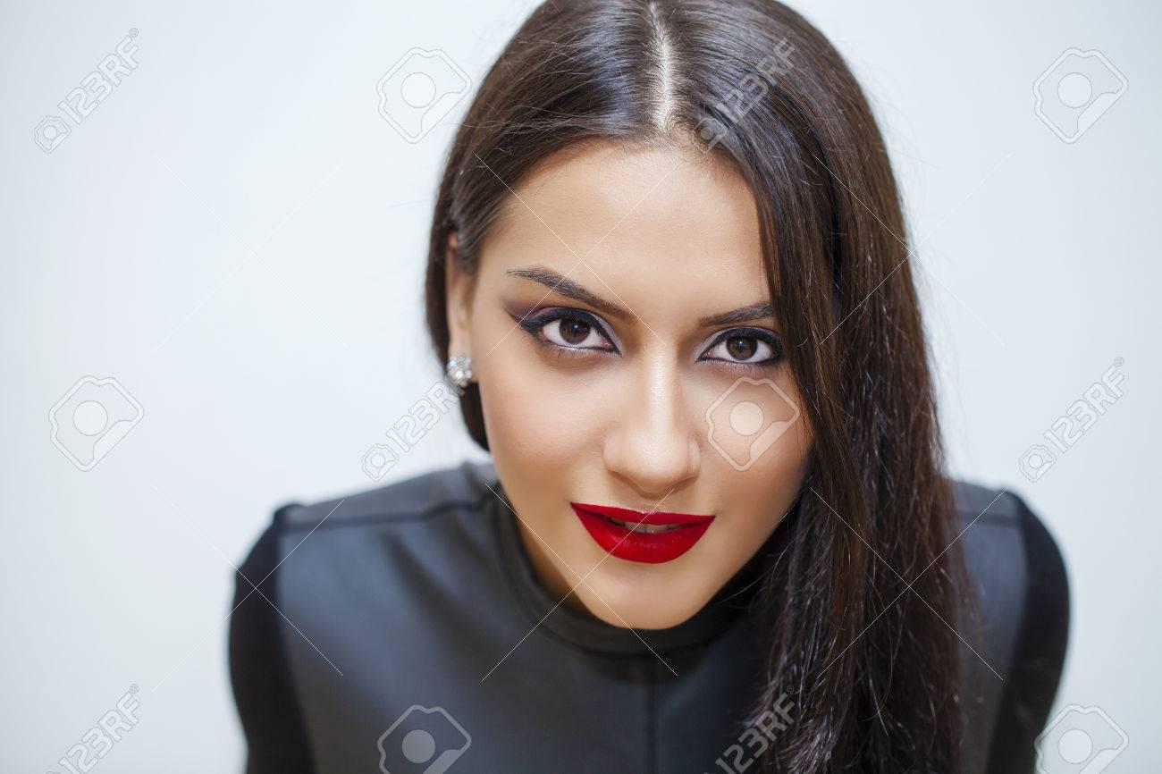 Orientalischen Stil Sensual Arabische Frau Modell Schone Saubere