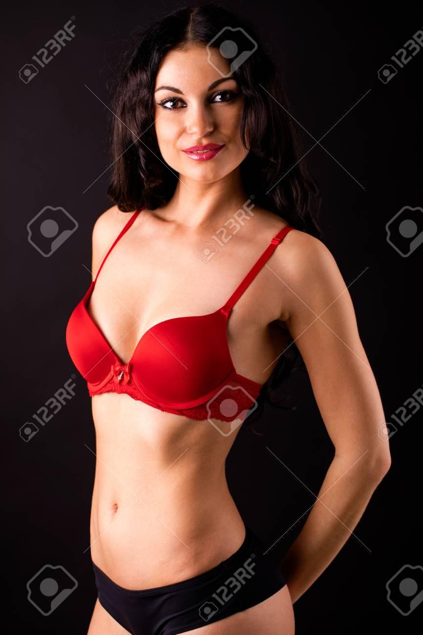 Black women in sexy underwear