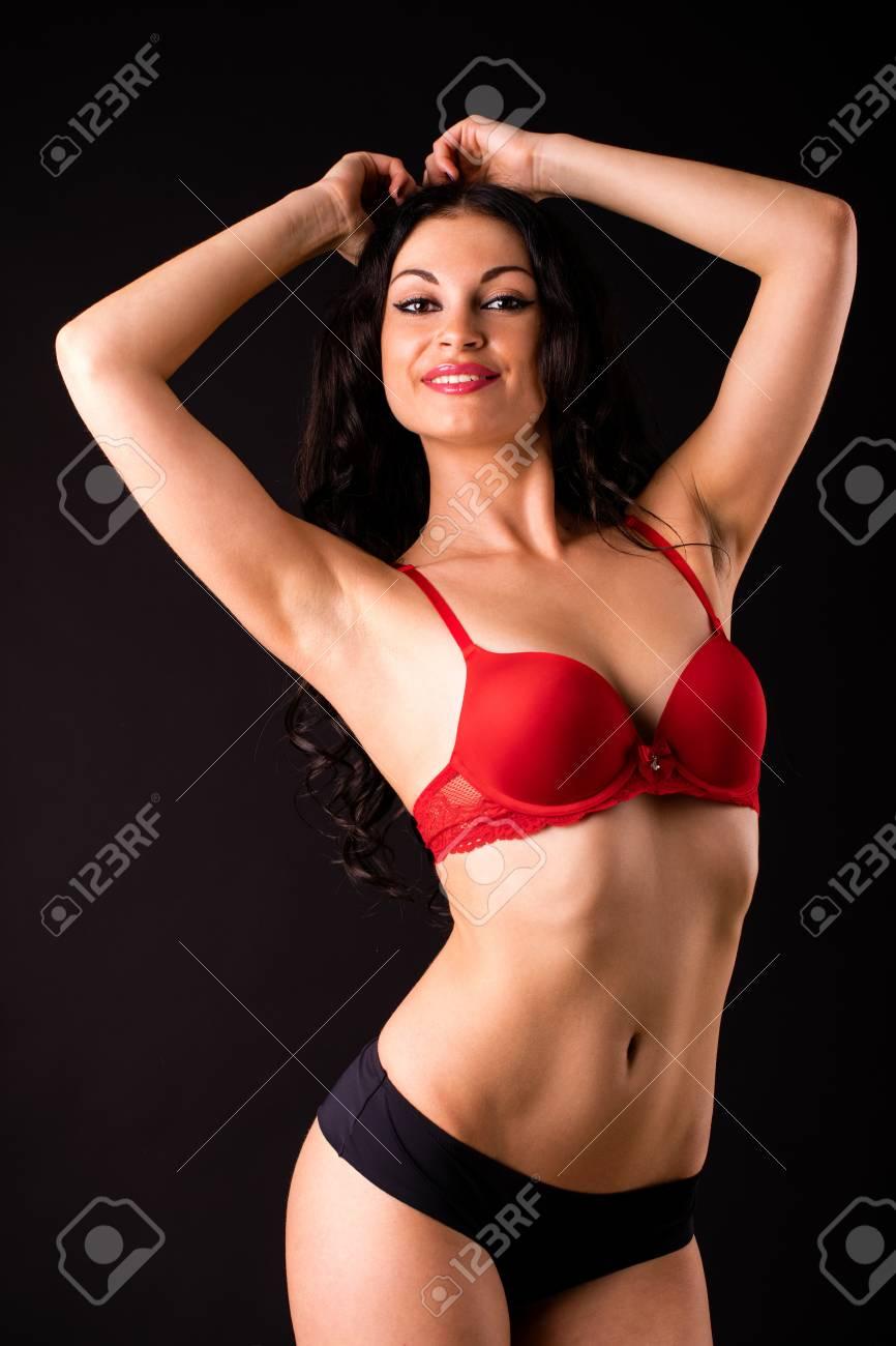 Sexy Brunette Teen Big Boobs