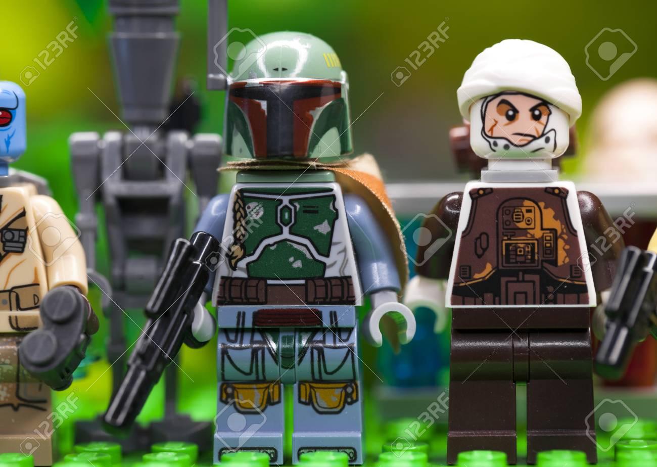 Russian April 03 2018 Constructor Lego Star Wars Boba Fett