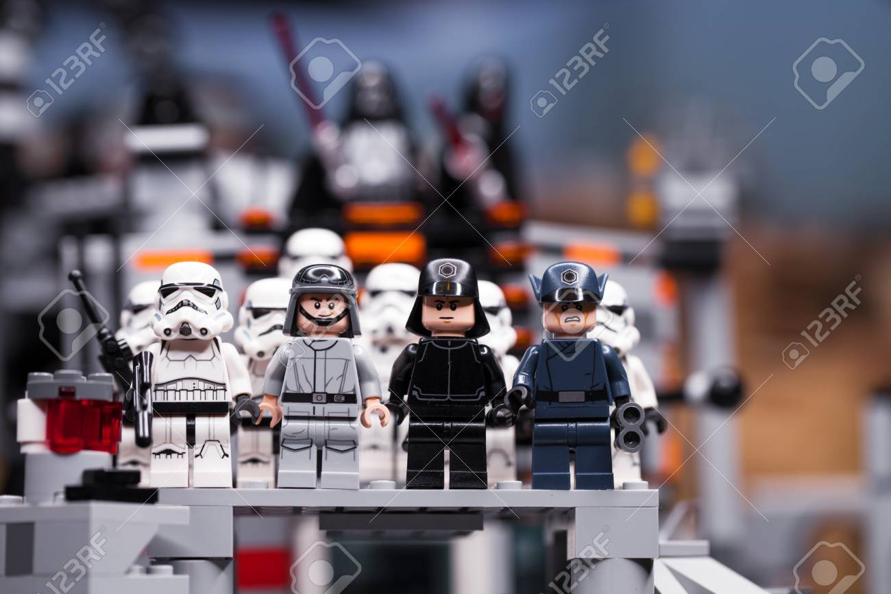 Russia April 12 2018 Constructor Lego Star Wars Episode Iv Stock Photo Picture And Royalty Free Image Image 99674574