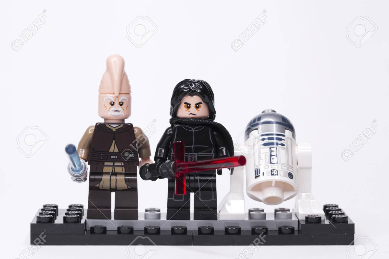 Lego star wars kylo ren and other mini