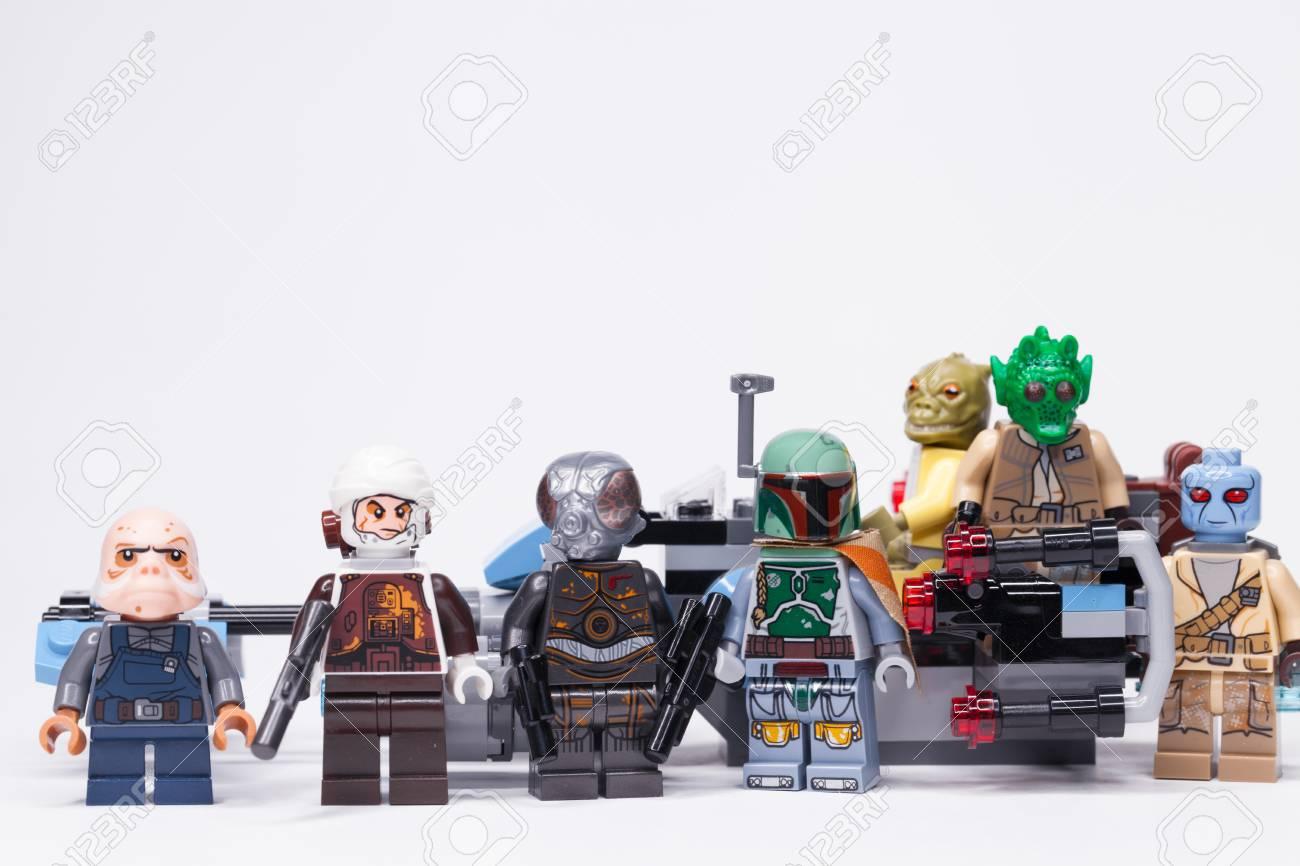 Russian May 16 2018 Constructor Lego Star Wars Boba Fett Stock