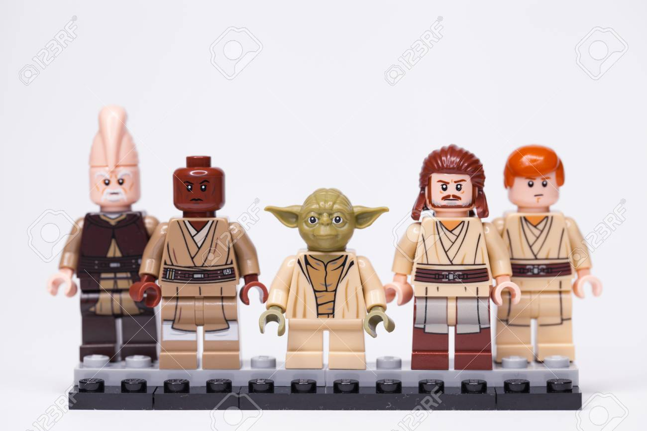 Russia May 16 2018 Constructor Lego Star Wars Jedi Members