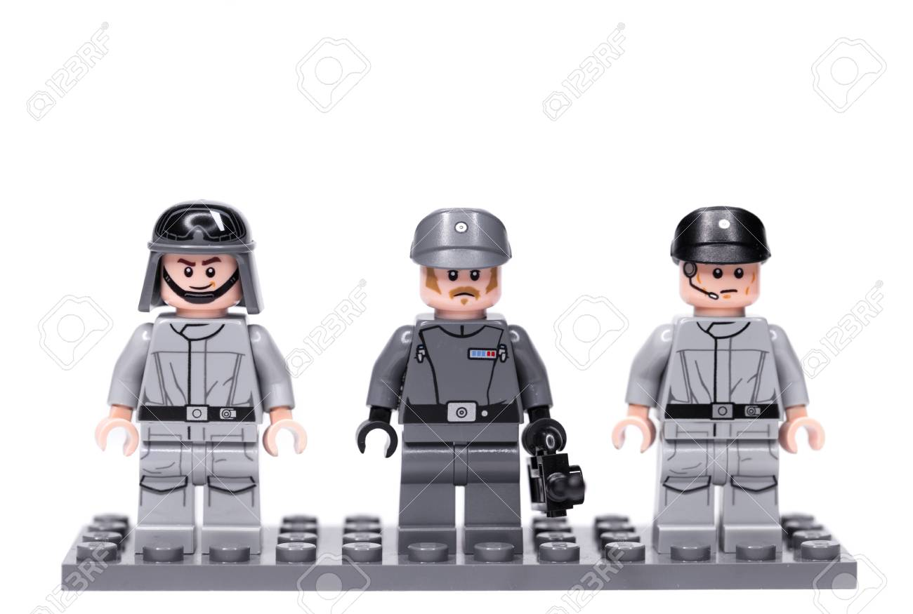 Russia May 16 2018 Constructor Lego Star Wars Officers Of