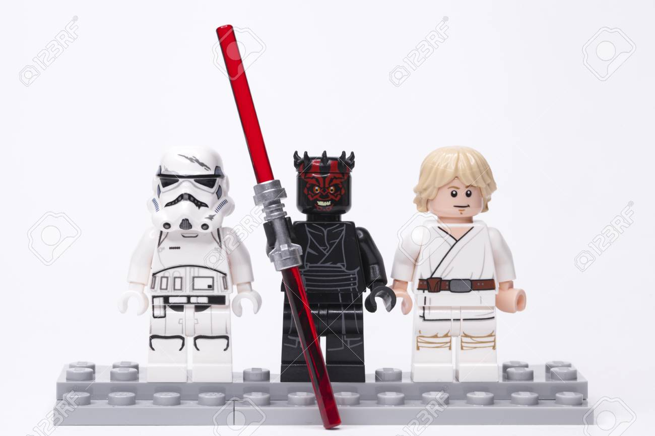 Russia May 16 2018 Constructor Lego Star Wars Darth Maul Stock Photo Picture And Royalty Free Image Image 103033002