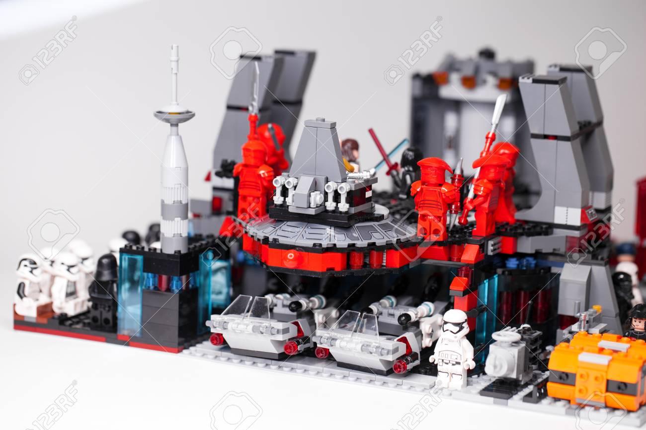 RUSSIAN, SAMARA - February 6, 2019  LEGO STAR WARS  Designer