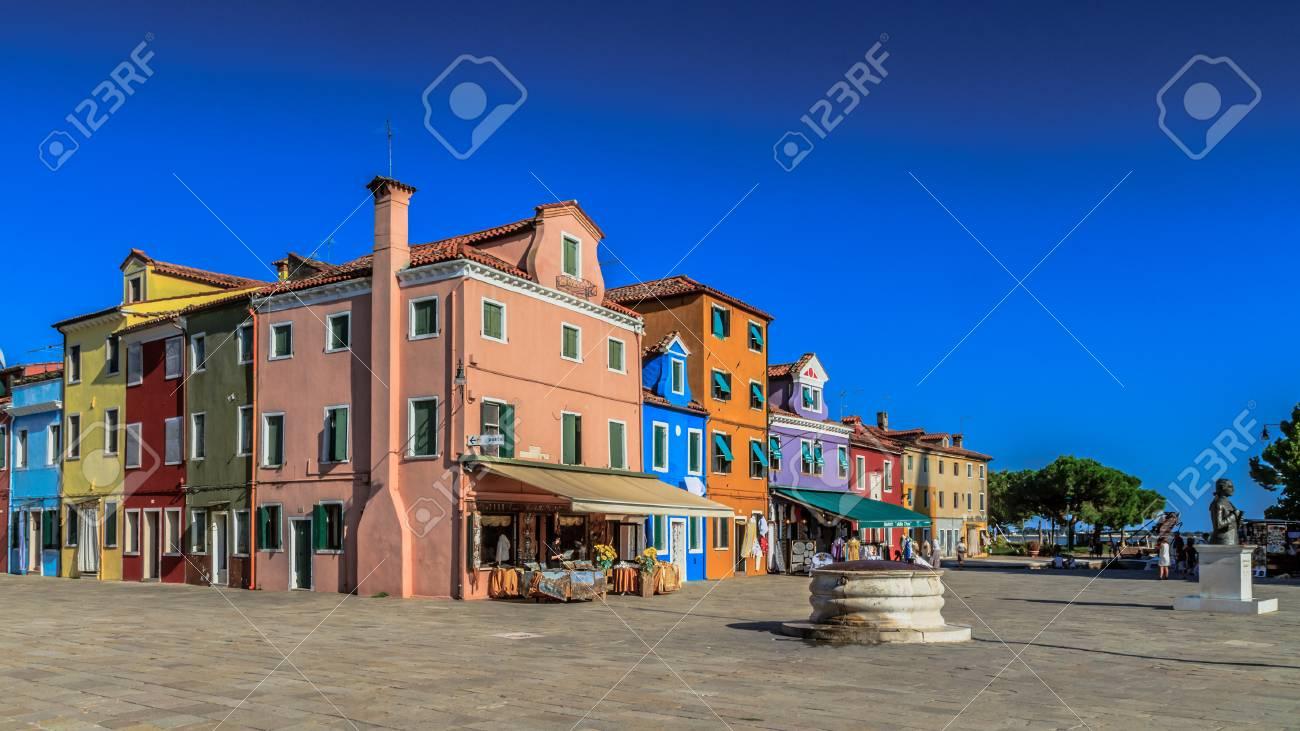 Colorful burano italy burano tourism - Burano Italy September 09 2013 Colorful Houses Of Burano Tourism Island In