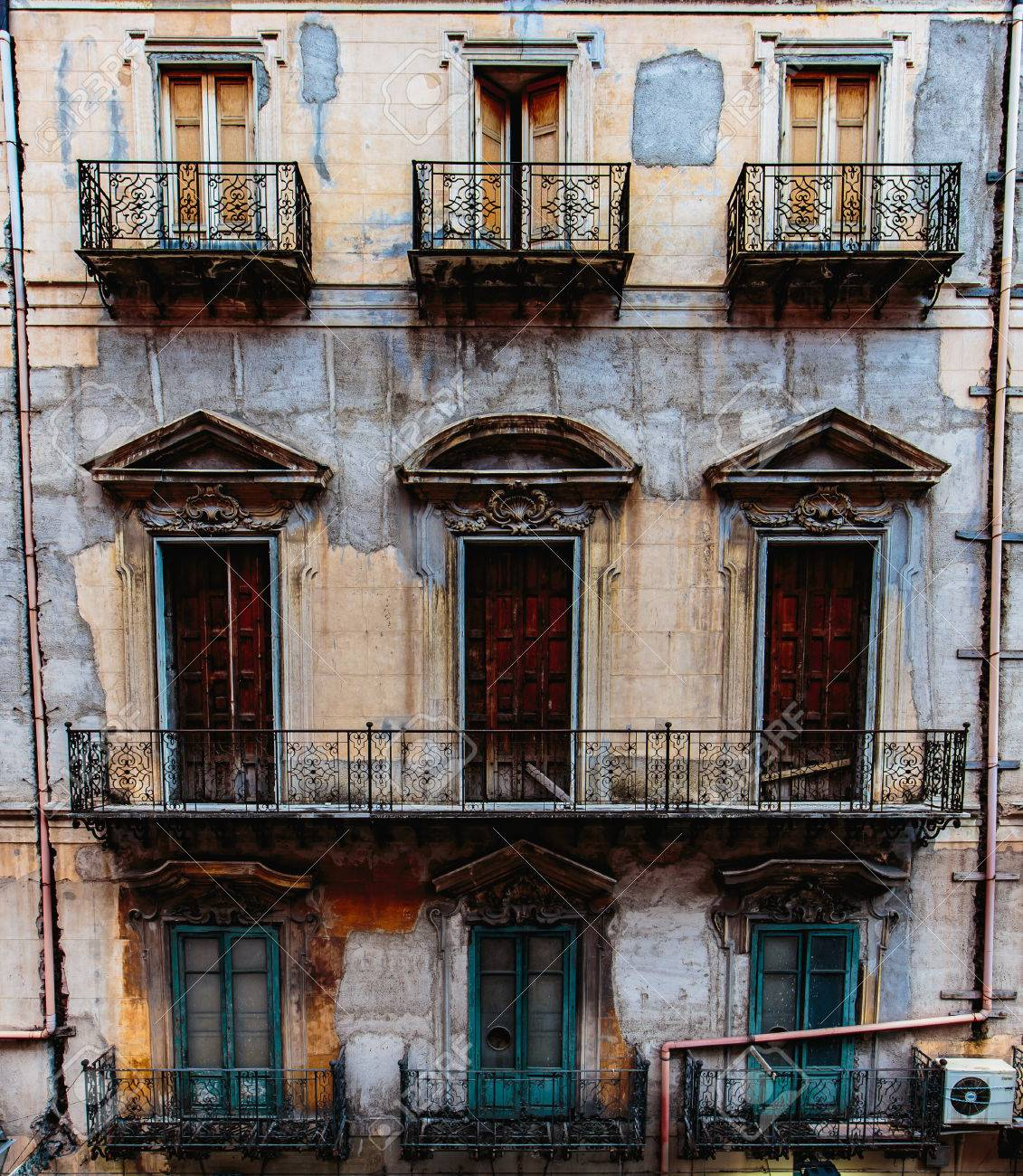 House In The City Of Palermo, ITaly Stock Photo, Picture And Royalty ...