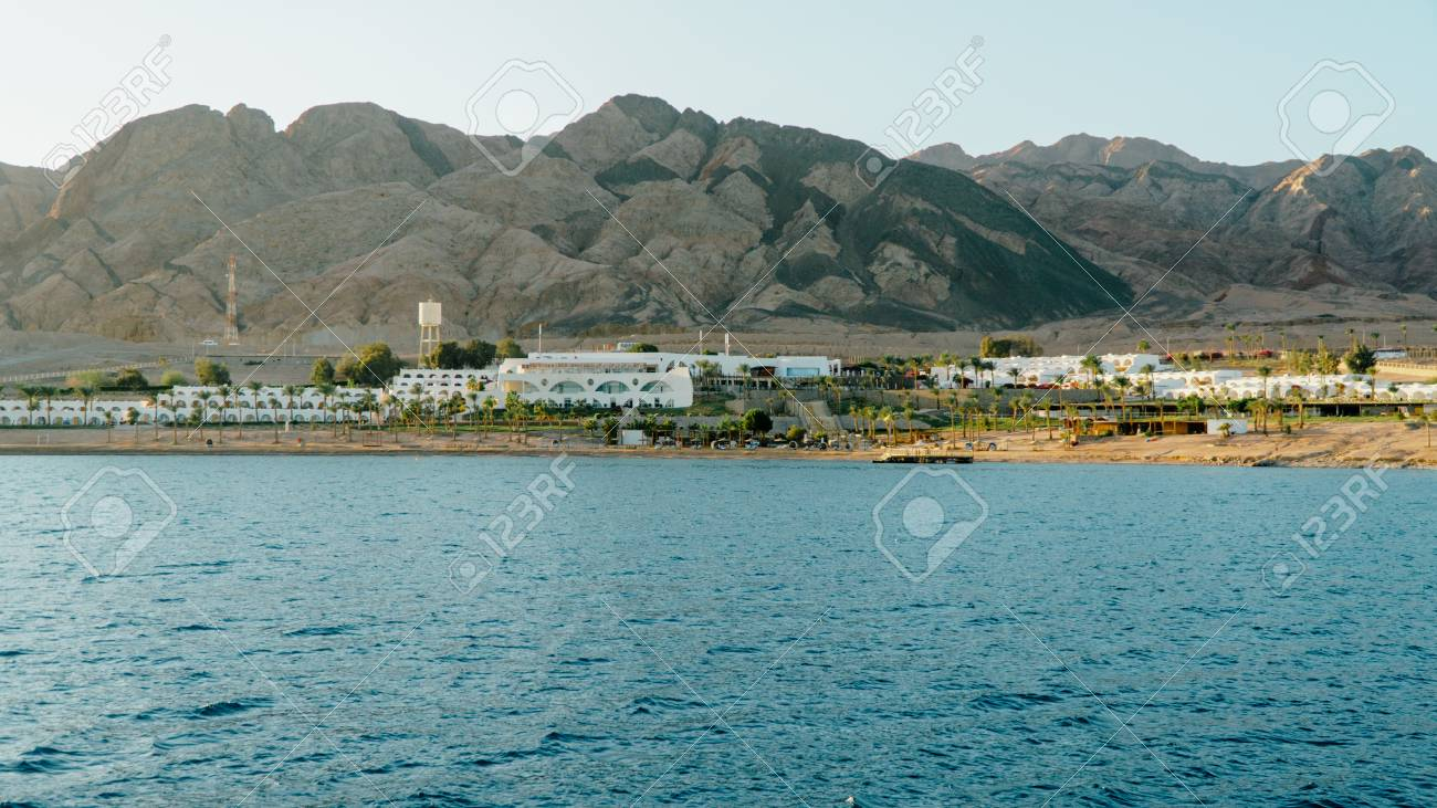 Egypt Red Sea Dahab In Sunny Weather Stock Photo Picture And Royalty Free Image Image 118421103