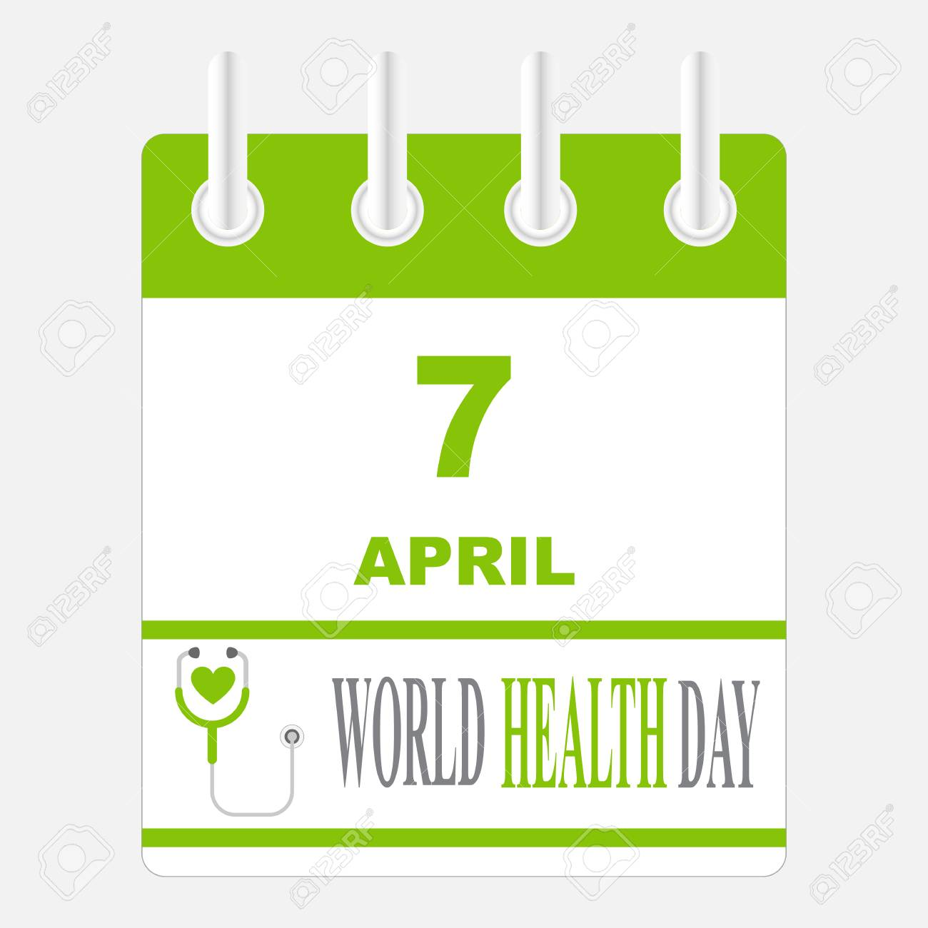 7 april international health day template design concept calendar 7 april international health day template design concept calendar style stock vector 73973934 saigontimesfo