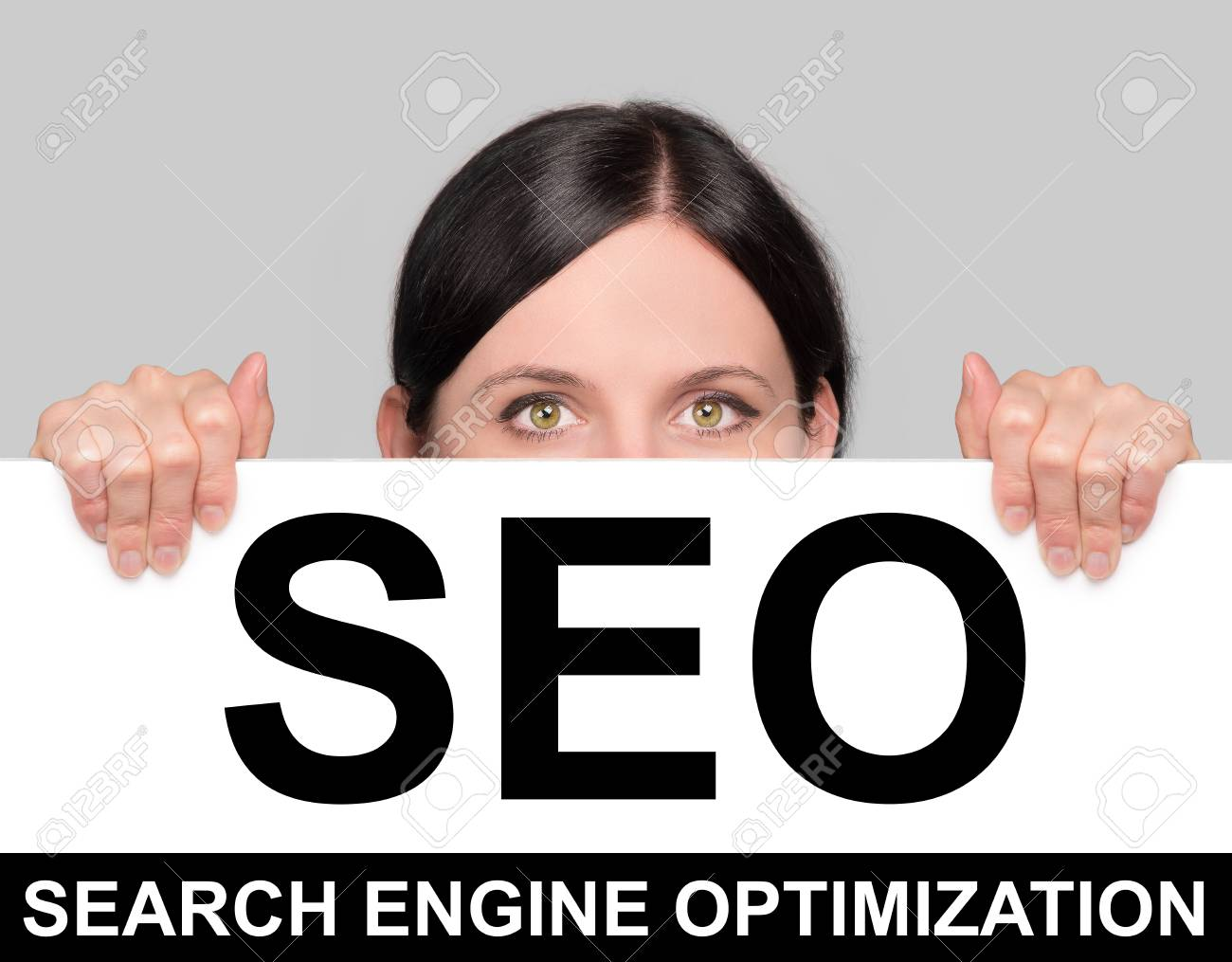 SEO board Stock Photo - 22348890