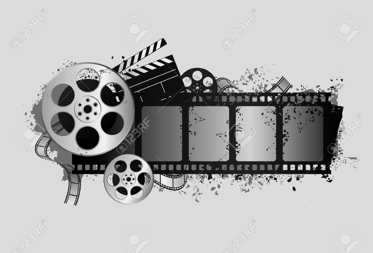 design elements of movie theme design Stock Vector - 9934619