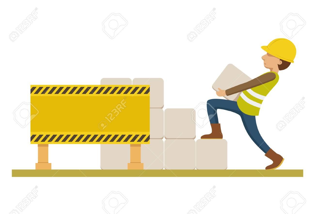 under construction Stock Vector - 20163746