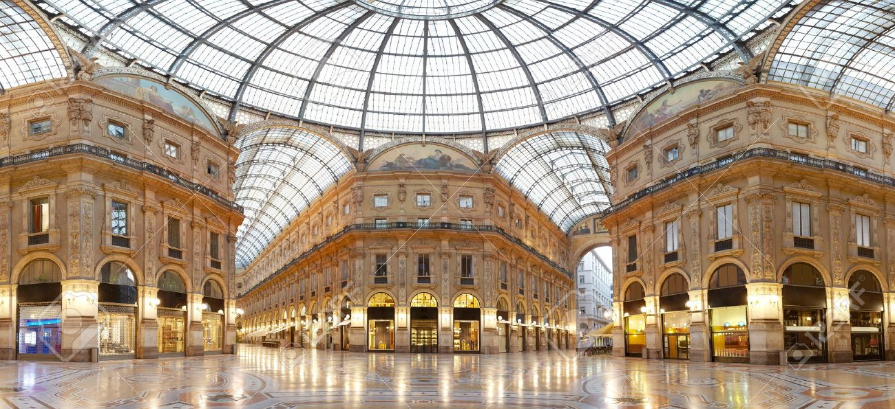 Milan Vittorio Emanuele Ii Gallery Italy Stock Photo Picture And Royalty Free Image Image 12877221