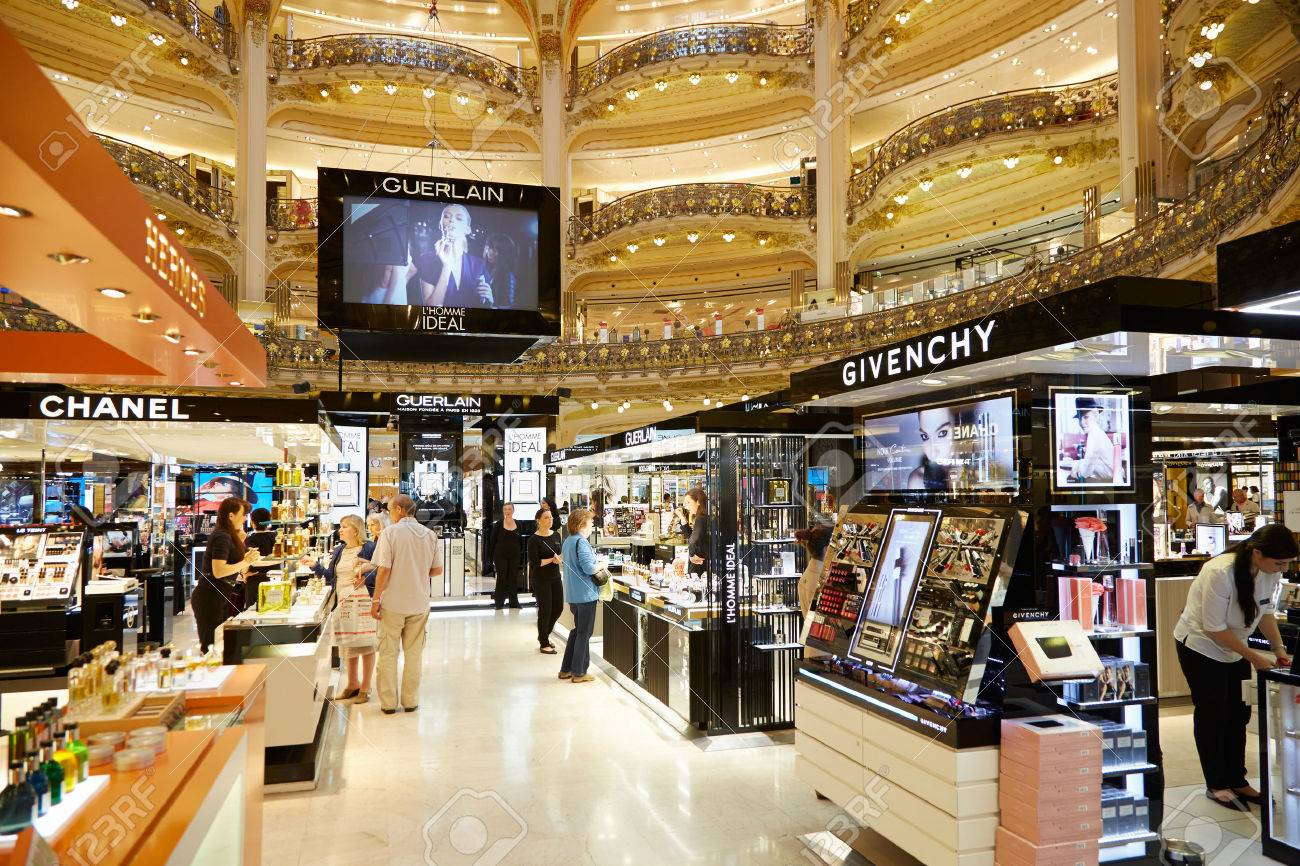 Galeries lafayette interior in paris stock photo picture jpg 1300x866 Givenchy  galeries lafayette 9e6eb720192