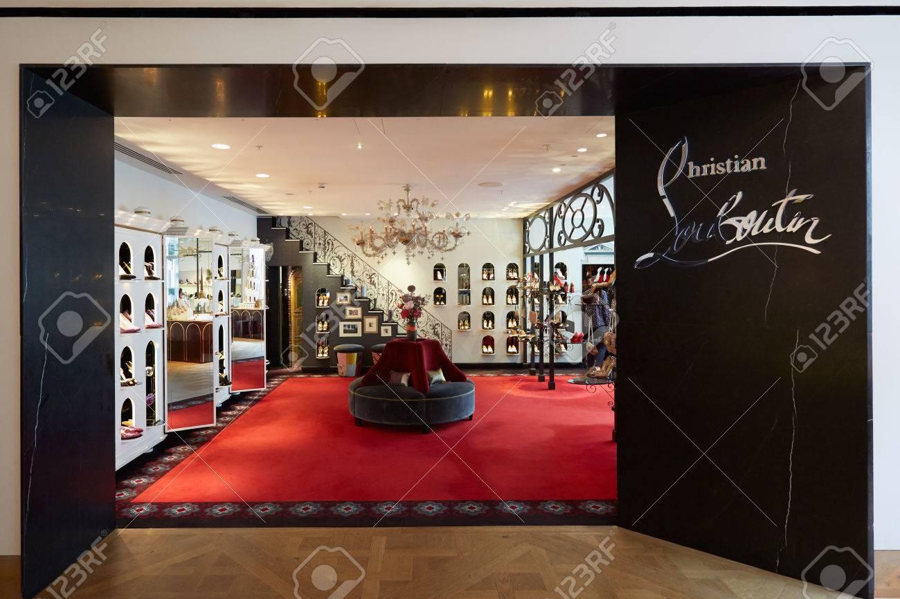pas mal bf8c4 56267 Grand magasin Selfridges intérieur, Christian Louboutin à Paris