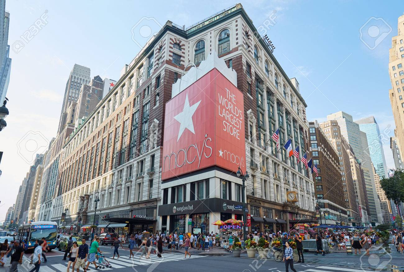 12210d68e4 Macy s department store in Herald Square flagship location in Midtown  Manhattan on September 10th