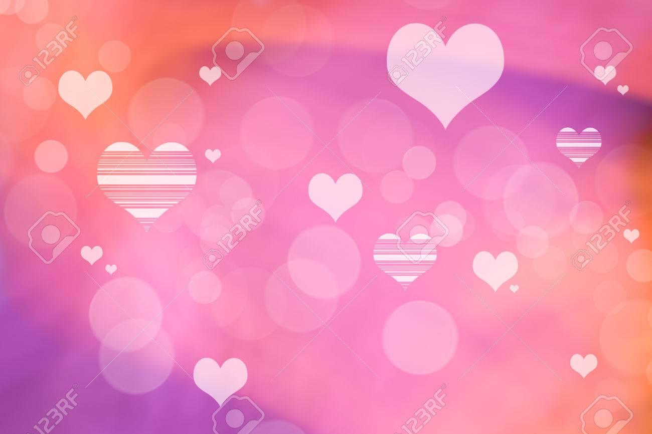 Valentine Hearts Resumen Antecedentes Day Wallpaper De San Valentín Telón De Fondo Del Corazón De Vacaciones