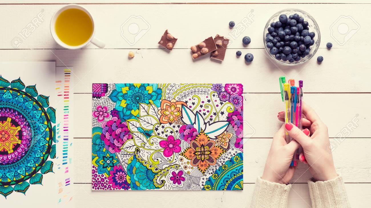 Fantastisch Online Färbung Für Erwachsene Frei Galerie - Druckbare ...