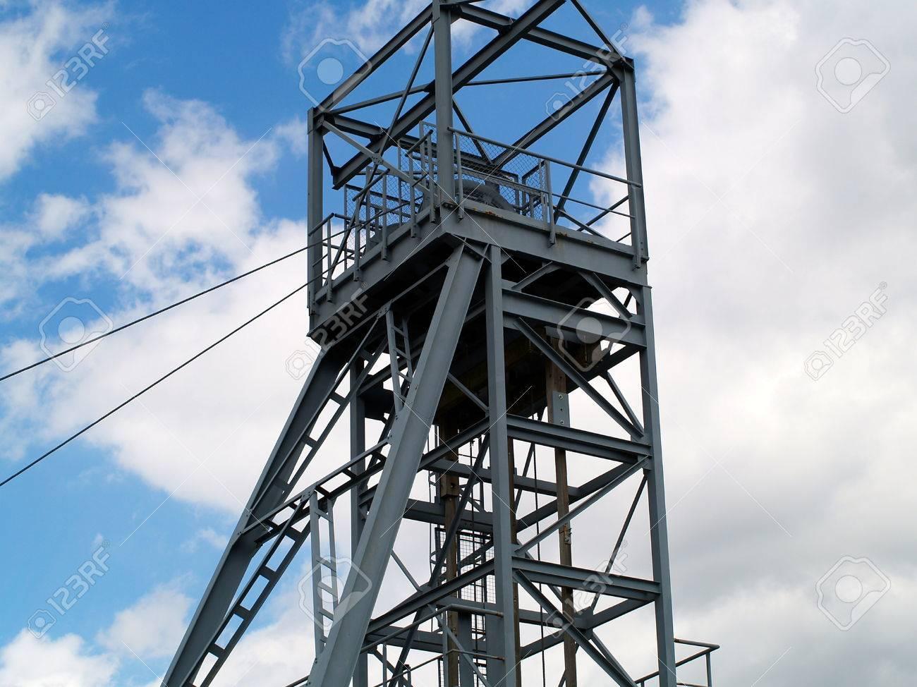 Mine Shaft Elevator