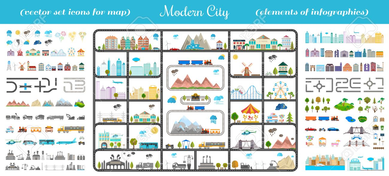 Design Your Own Map on