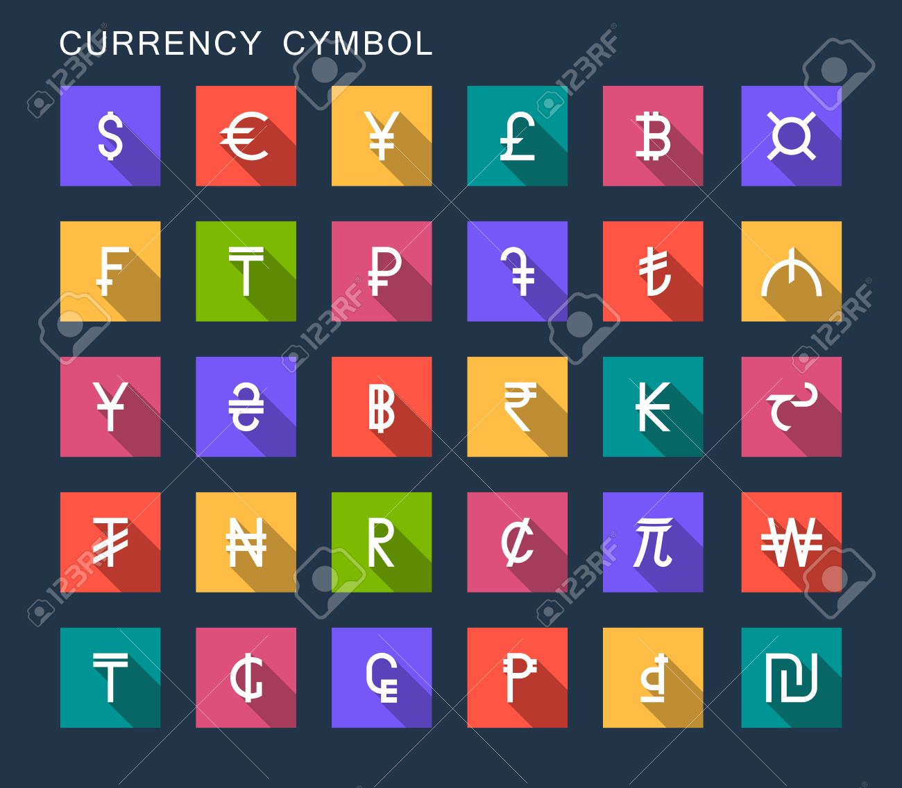 Vector set currency symbols world money on dark isolated vector set currency symbols world money on dark isolated background currency signs representing money in biocorpaavc Choice Image