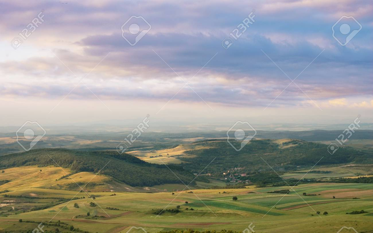 A spring landscape with beautiful colors of the morning Stock Photo - 10319557