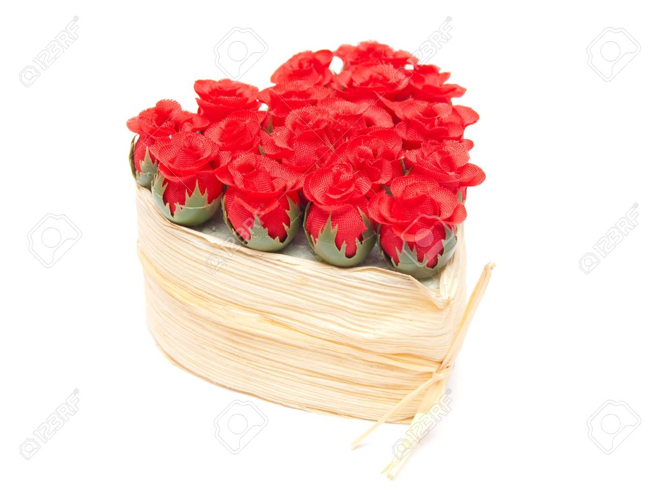 bouquet of roses in the form of heart Stock Photo - 7430195