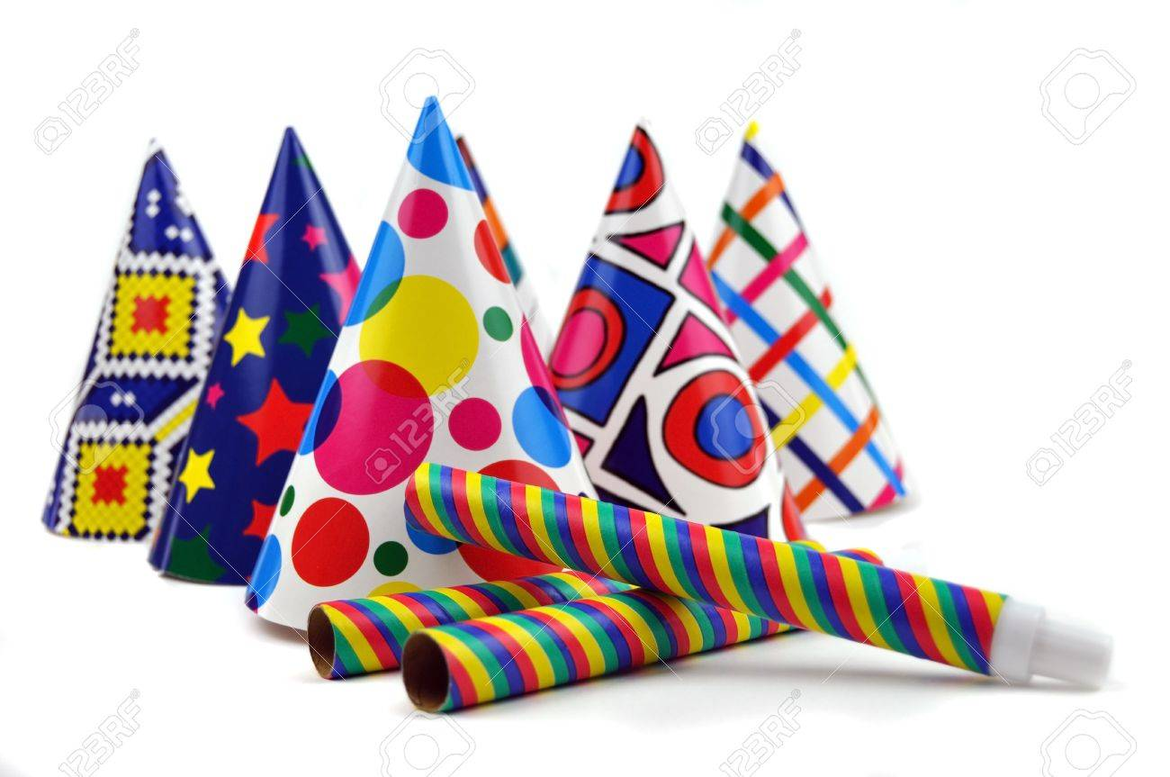 Colorful Party Hat Colorful Party Hats And