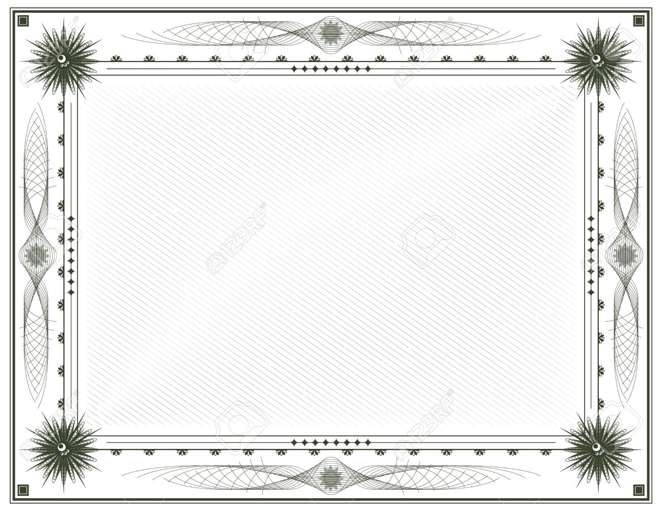 Blank diploma or certificate vector template letter format royalty blank diploma or certificate vector template letter format stock vector 36806381 yelopaper Choice Image
