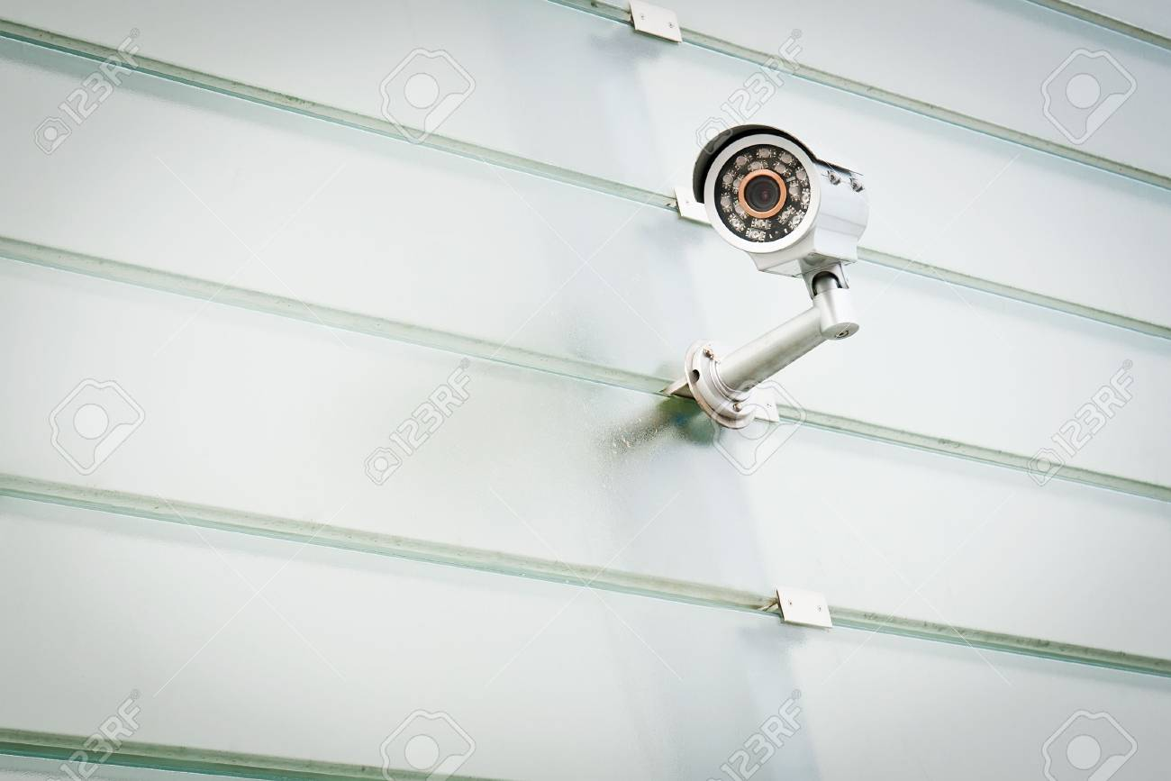Security camera is watching you! Stock Photo - 7730141