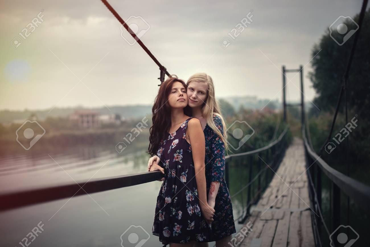 Julies first lesbian sex