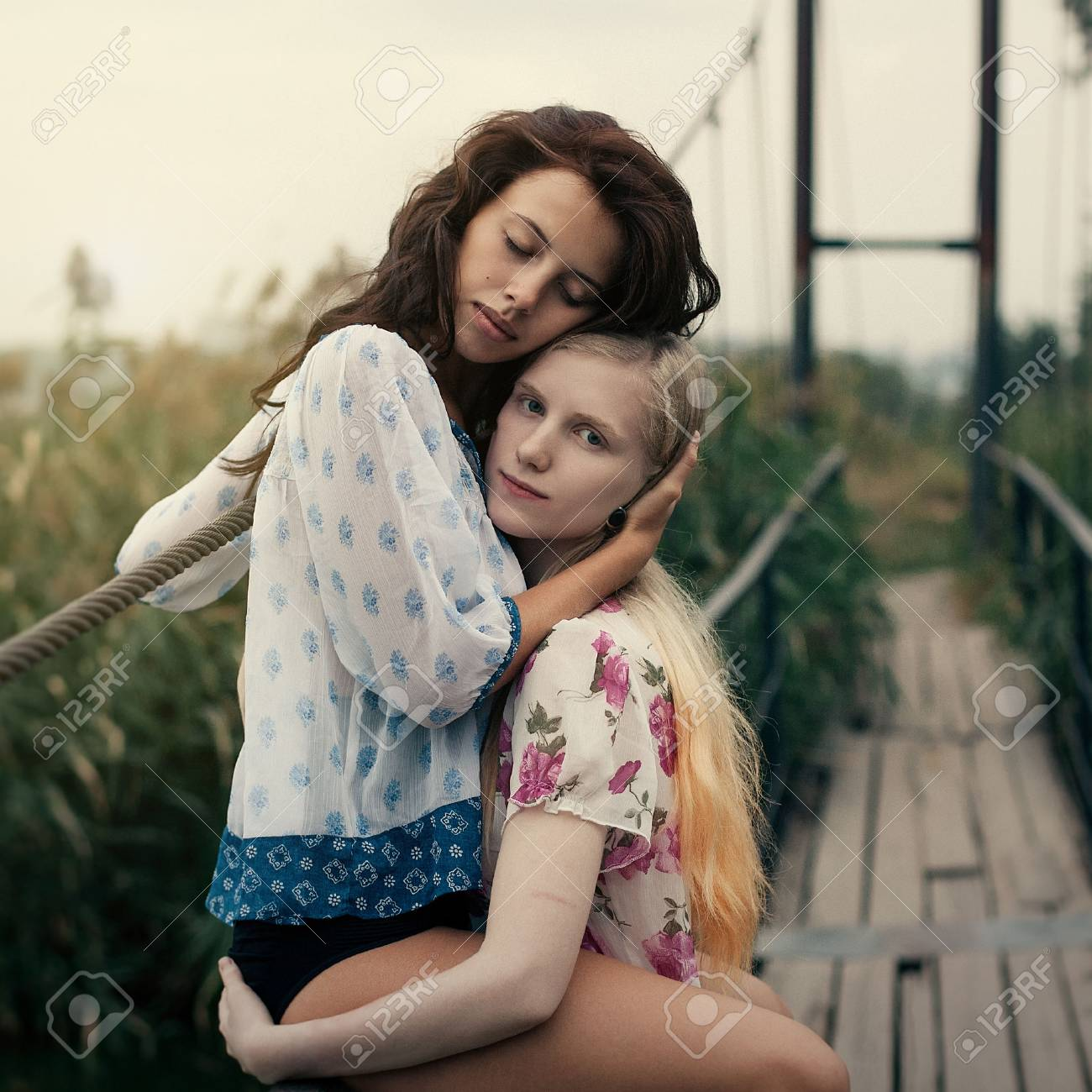 Jonge lesbiennes pics
