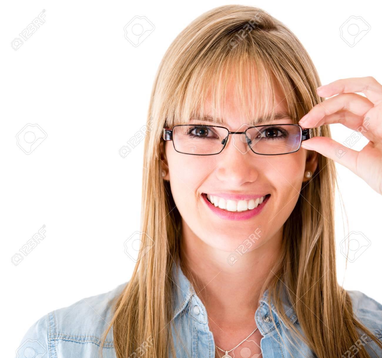 Женщина в очках 24 фотография